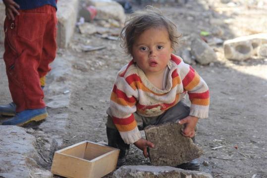 Aleppo's Children Endure Life in Syrian War Zone - NBC News - nbcnews.com