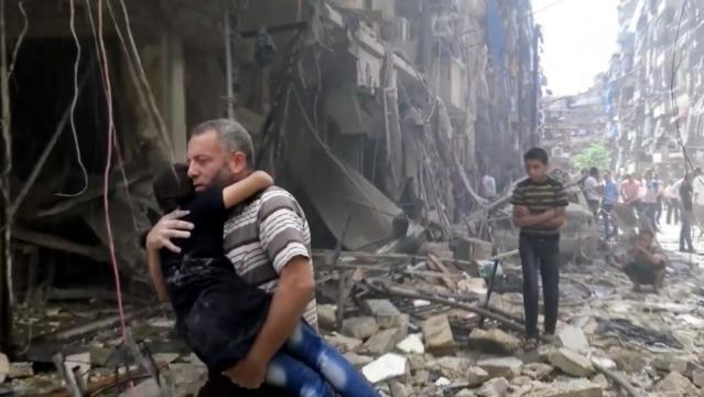 Syria Civil War: 'The sky is falling' in Aleppo - AJE News - aljazeera.com