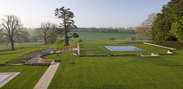 Jardín privado de los Costwolds, Hampnett, Inglaterra, 2008 (Foto: web.fernandocaruncho.com)