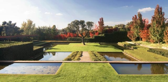 Jardín privado en las afueras de Madrid, España, 1997 (Foto: web.fernandocaruncho.com)