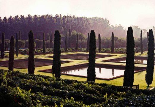 Mas de les Voltes, Jardín agrícola privado en Gerona, España, 1994 (Foto: web.fernandocaruncho.com)