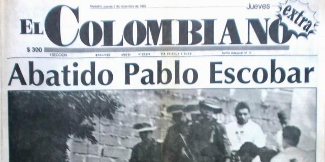 Muerte de Pablo Escobar en Colombia - Calendario 2016 Colombia - calendario-colombia.com
