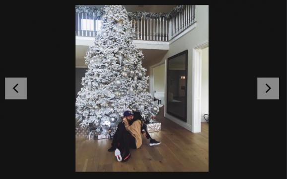 Tyga via Cosmopolitan.com: http://www.cosmopolitan.com/entertainment/a8502109/kylie-jenner-and-tyga-christmas-tree/