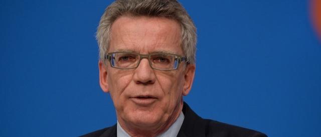 Il ministro dell'interno tedesco, Thomas De Maizière: 'Non voglio ancora usare la parola attentato'