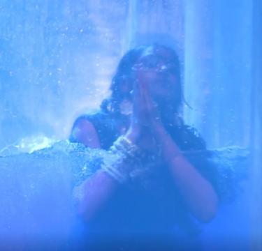Anika in water casket (Ishqbaaz Youtube screengrab)