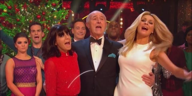 Say goodbye to Len Goodman with this festive Strictly Come Dancing ... - digitalspy.com