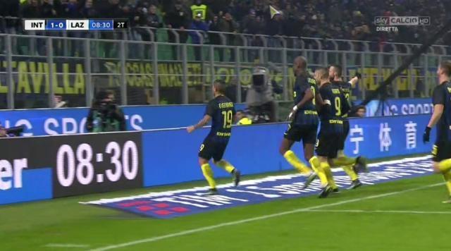Voti Fantacalcio Inter-Lazio Gazzetta dello Sport