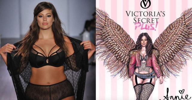 Ashley Graham pour Victoria's Secret ?