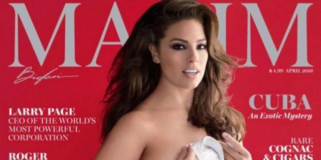Ashley Graham pour le magazine Maxim