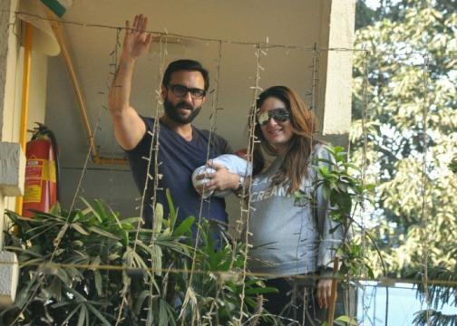 Kareena and Saif bring Taimur home (Panasiabiz.com)