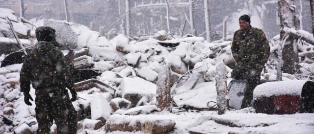 Aleppo sotto la neve, il nuovo dialogo tra Stati Uniti e Russia inizierà inevitabilmente dalla Siria