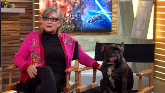 Carrie Fisher Dishes on Return to 'Star Wars' Video - ABC News - go.com