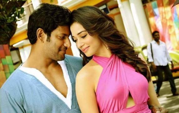 Kaththi Sandai - Tamannaah and Vishaal - cinecharal.com