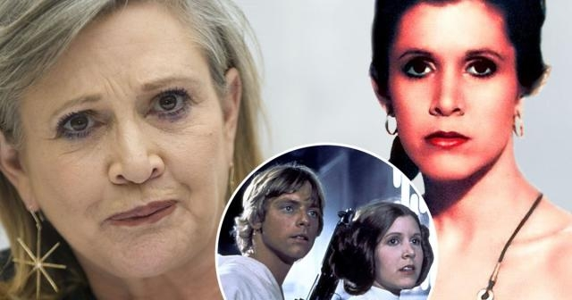 Star Wars legend Carrie Fisher on returning as General Leia and ... - mirror.co.uk