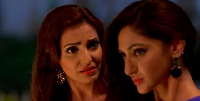 Tia and sister in 'Ishqbaaz' (Youtube screen grab)