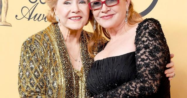 Debbie Reynolds Teases Daughter Carrie Fisher Over Princess Leia ... - usmagazine.com