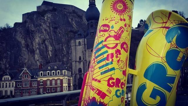 Dinant, Bélgica. Foto. Mitzi Vera