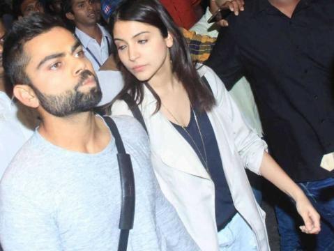 Anushka Sharma Joins Virat Kohli in Delhi For Suresh Raina's ... - ndtv.com