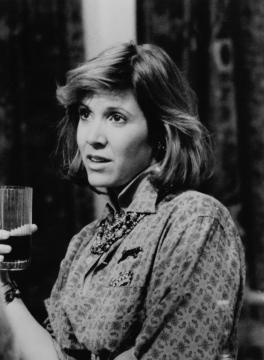 Carrie Fisher en otro trabajo reconocido fuera de 'Star Wars': su April de 'Hannah y sus hermanas' de Woody Allen, en busca del amor y del éxito.