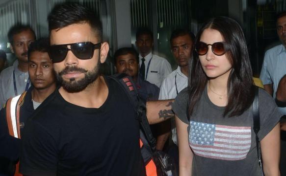 Virat Kohli and Anushka Sharma spotted at ... - firstpost.com