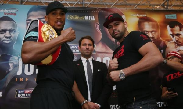 Eric Molina's title fight vs. Anthony Joshua: The beginning or end ... - usatoday.com