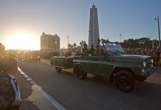 Las 20 fotos del traslado de las cenizas del dictador Fidel Castro ... -