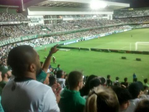Estádio Couto Pereira recebeu Coritiba 1x1 Nacional de Medellín em 19/10/16