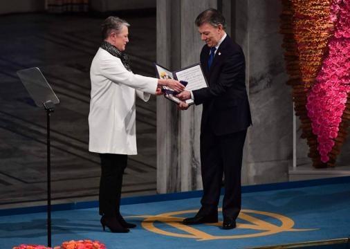 Fotos: Juan Manuel Santos recibe el Nobel de la Paz, en imágenes ... - elpais.com