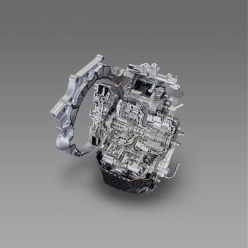 Nova transmissão de oito velocidades da Toyota.