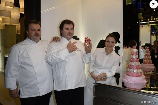 Pierre Hermé et Anne-Sophie Pic : Deux incroyables toqués au Grévin ! - purepeople.com