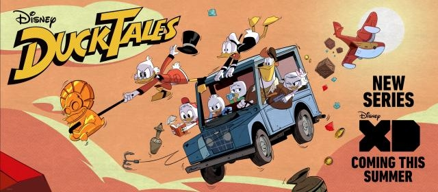 New poster for Ducktales - EW.com
