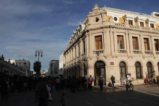 Centro de Desarrollo Cultural, en la esquina de independencia y libertad, Chihuahua.