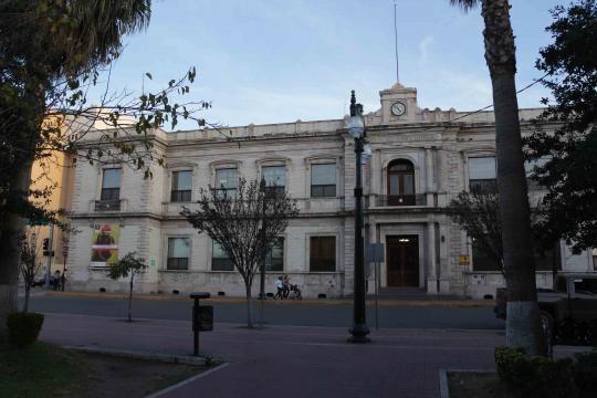 Rectoría de la Universidad Autónoma de Chihuahua.