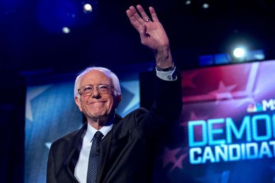 Bernie Sanders, ganador demócrata.