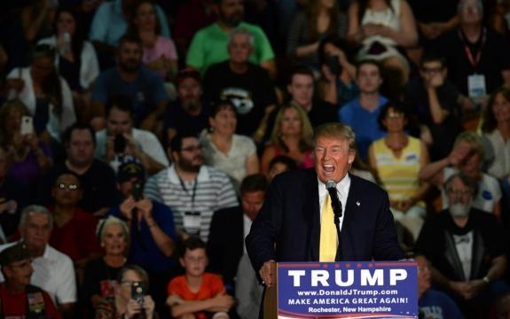 Donald Trump, ganador republicano.