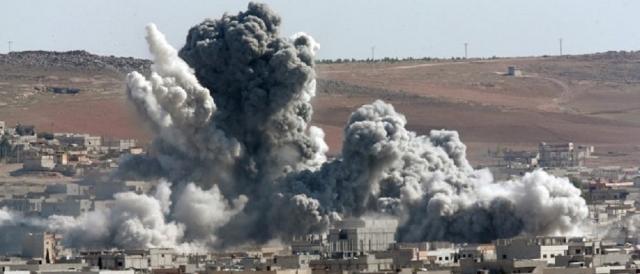 Bombardamenti dell'aviazione russa in Siria
