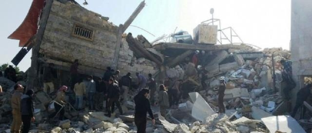 L'ospedale di MSF distrutto dalle bombe