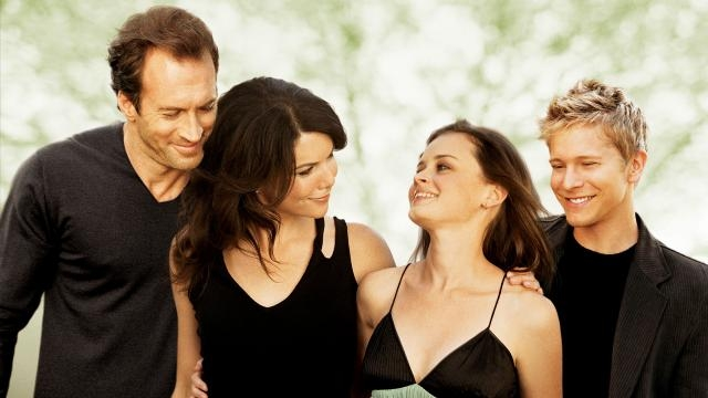 Gilmore Girls: Luke, Lorelai, Rory y Logan