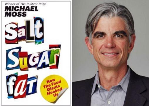 Premiado Michael Moss lança livro sobre comida.