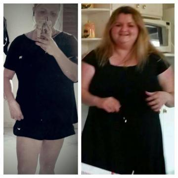 O antes e depois, mudança total!