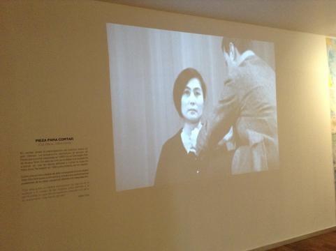 Yoko Ono, artista conceptual happening