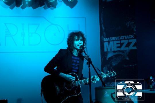 Gran concierto del artista Rubén Pozo.