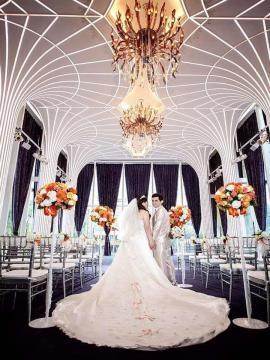 La boda de un argentino en Taiwán, China