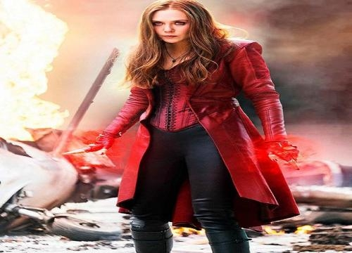 Scarlet Witch durante 'Capitán América: Civil War'