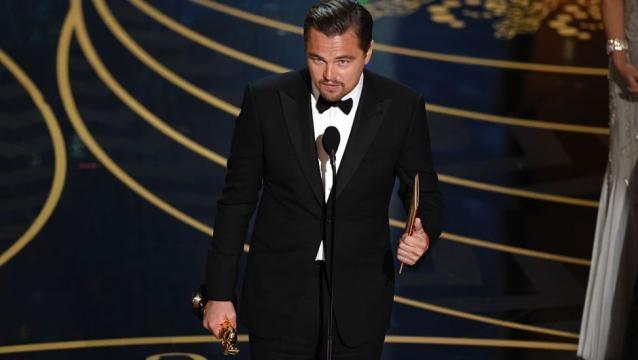 DiCaprio ganador del Oscar a mejor actor