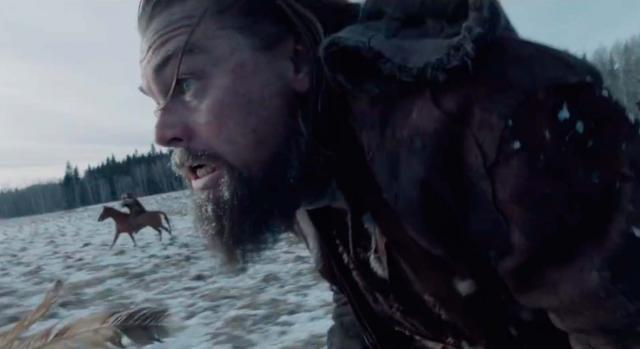 El renacido, interpretada por Leonardo DiCaprio
