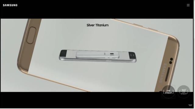Samsung Galaxy S7 colorazione Silver