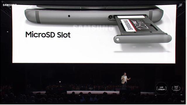 Samsung galaxy S7: Slot SD e SiM