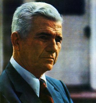 El parapsicólogo Joseph B. Rhine (1895-1980)
