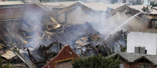 Incêndio no Iron Mountain, saldo: 10 mortos